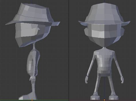 blender tutorial low poly character low poly game character creation pt 1 argylebox