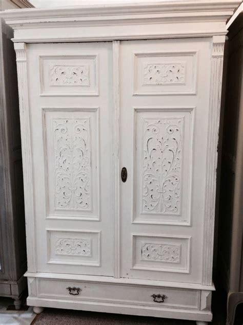 painted pine armoire wardrobe bedroom
