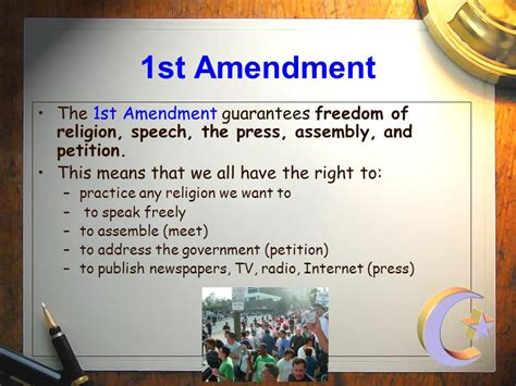 Freedom To Assemble Is Outlined In Which Amendment by The Bill Of Rights The 10 Amendments To The Constitution Ppt