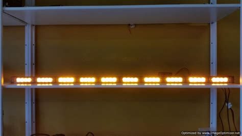 Automo Lighting Led Warning Light Bars Off Road Lights Led Directional Light Bar