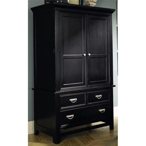 Black Tv Armoire by Entertainment Centers Ashton Collection Black Tv Armoire