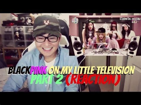 blackpink my little television blackpink cuts my little television eng sub part 2