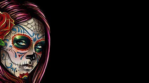 skulls background sugar skull hd wallpaper and background image