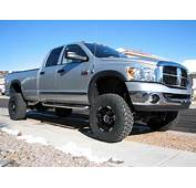 Lifted Silver Dodge Ram 2500 Truck  Nice Trucks