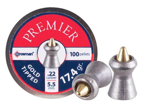 Mimis Crosman Premier Gold Tipped Termurah crosman premier gold tip 22 cal 17 4 grains pointed 100ct air gun pellets