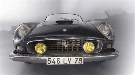 gerard blain ferrari barn find ferrari 250 california sells for 23m at auction