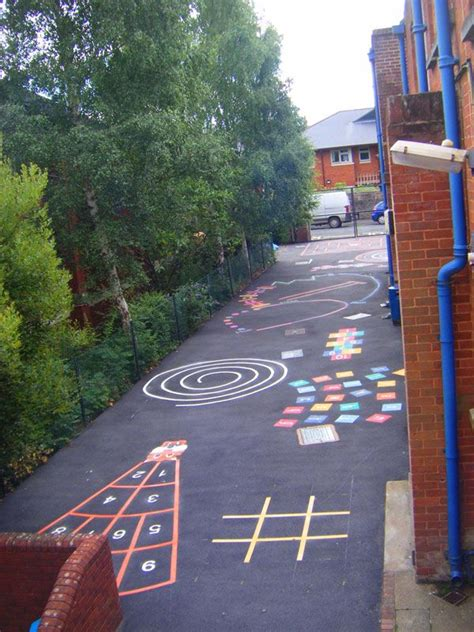 painting school playground keep our school playgrounds busy p e health