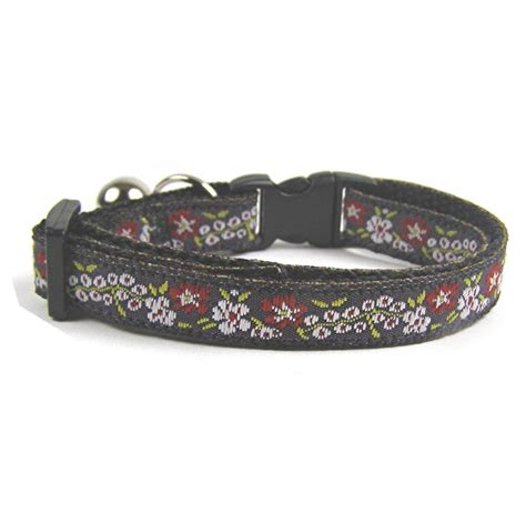 embroidered collars vintage embroidered cat collar coolcatcollars co uk