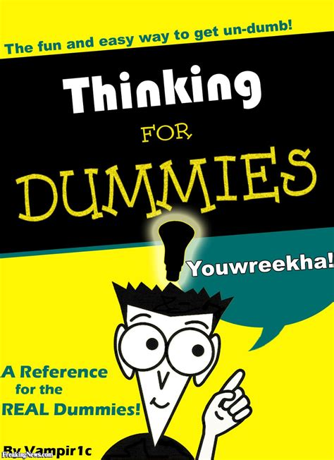 for dummies thinking for dummies pictures