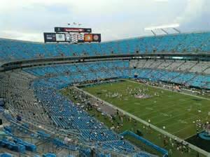 bank of america stadium seat view bank of america stadium section 536 row 8 seat 10