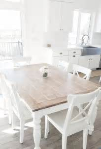 dining room white dining room table with