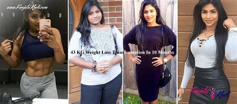 weight loss 10 kg this s 43 kg weight loss transformation in 10 months