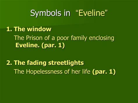 themes of the story eveline ppt eveline and the dead from james joyce s