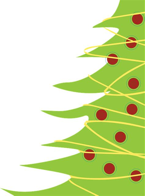 natale clipart gratis free vector graphic tree free image on