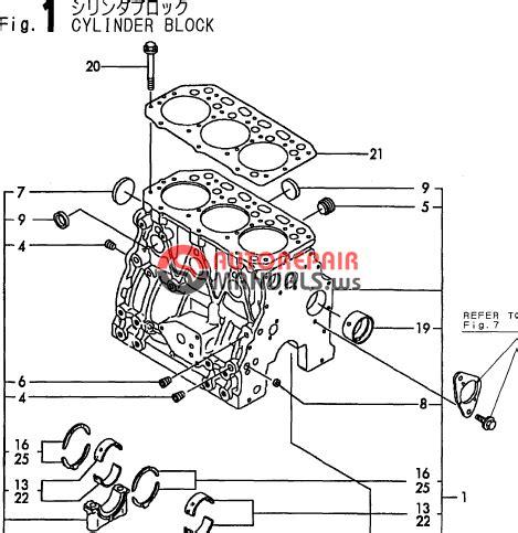 Yanmar Engine 3tne88 E B1 B37 2b Parts Catalog Auto