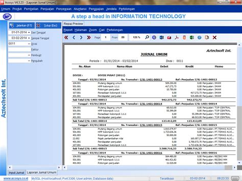 membuat aplikasi jurnal umum toko elkha bisnis program toko kasir lengkap profesional