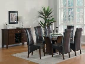 dining room glass dining room sets glass table dining