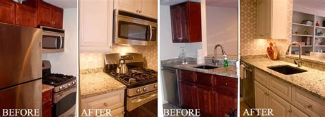 Kitchen Cabinet Painting Before After Arteriors Paint Kitchen Cabinets Before And After