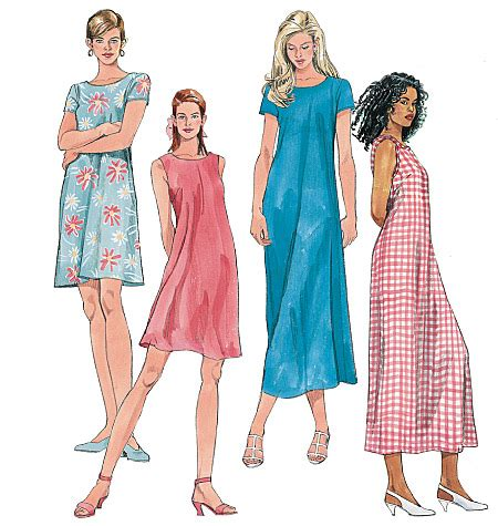 pattern review mccalls 5894 mccall s 6102 misses dress in 2 lengths