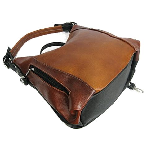 Handmade Leather Shoulder Bag - a15 venezia dual genuine leather s shoulder bag
