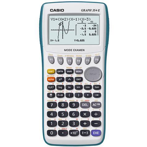 calcolatrice casio casio graph 35 e calculatrice casio sur ldlc