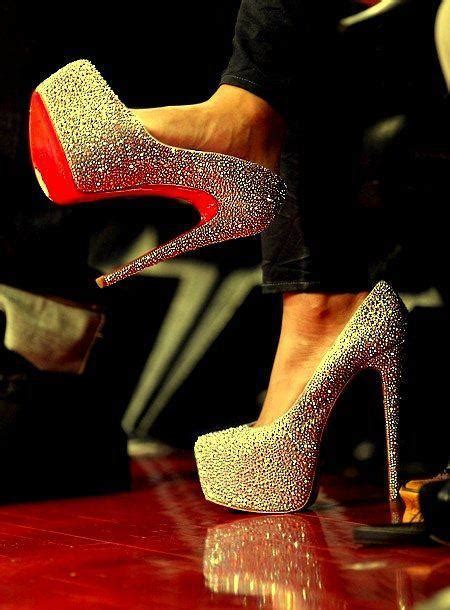 amazing high heels amazing glam glitter heels high image 344529 on