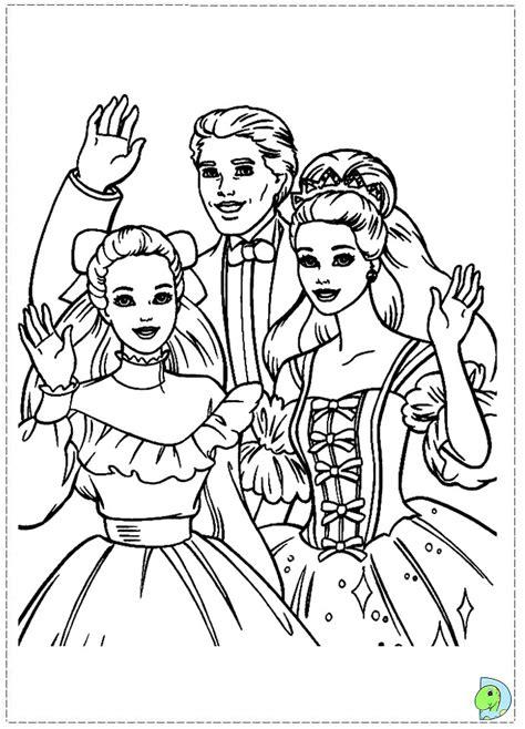 coloring pages barbie nutcracker barbie nutcracker coloring page dinokids org
