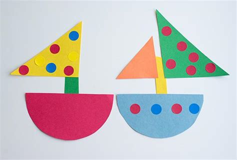 Construction Paper Crafts For 2 Year Olds - nautical baby shower simple diy baby shower ideas part 2