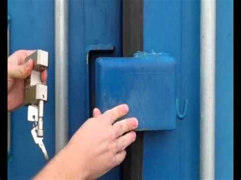 securing  container   lock box  security lock