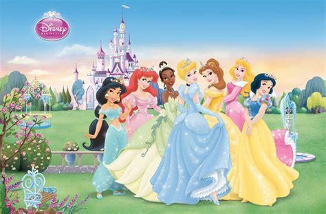 Disney Princess Castle Wall Mural new kids cartoons disney princess video game for little girl