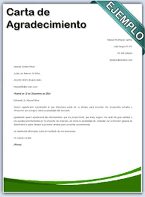 ejemplos de cartas de agradecimiento por participar en un ejemplos de carta de agradecimiento para un trabajo