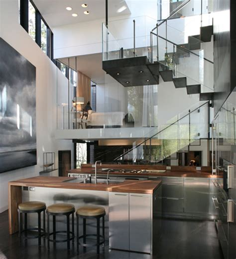 cool glass staircase designs digsdigs