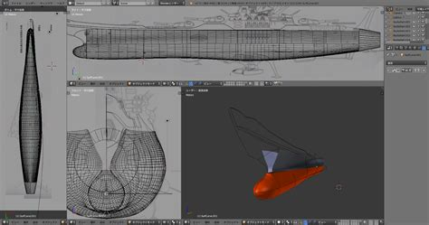 Blender Yamato blenderで宇宙戦艦ヤマト 初めての宇宙戦艦ヤマト 制作開始