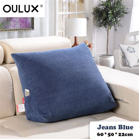 pillow seat for bed creative pillow comfortable chair cushions corduroy pillow