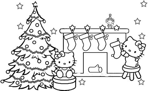 merry christmas mom coloring pages hello kitty merry christmas coloring pages