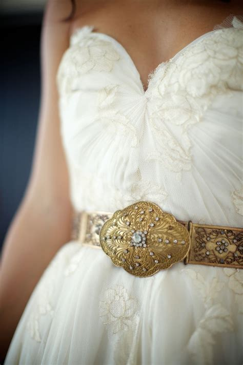 10 real bridal belted looks wedding dresses with belts