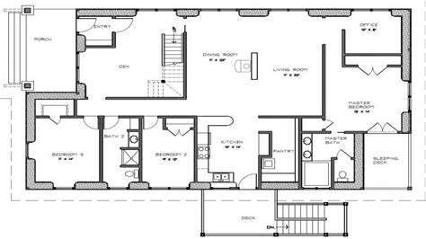 Bedroom House Plans by Two Bedroom House Plans With Porch 3 Bedroom 2 Bath House