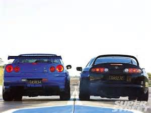 Nissan Skyline Vs Nissan Skyline Gtr R34 Toyota Supra Cars