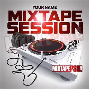 mixtape template mixtape cover mixtape session 6 mixtapepsd
