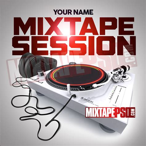 Mixtape Cover Mixtape Session 6 Mixtapepsd Com Mixtape Cover Template Psd