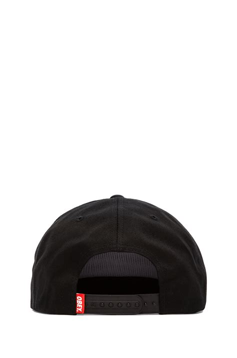 Topi Suicidal Tendencies Snapback 1 lyst obey x suicidal tendencies collection propaganda snapback in black for