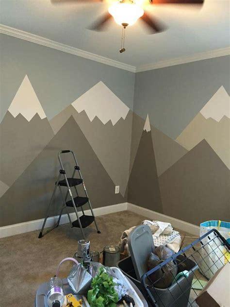 Dinosaurs Murals Walls mountains in children room