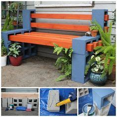 how to make a cinder block bench diy patio furniture cinder block bench with back diy pinterest patio extra