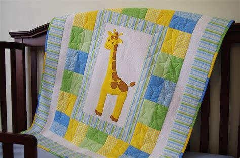 Free Baby Quilt Applique Patterns by Ahhh Quilting Giraffe Quilt Pattern