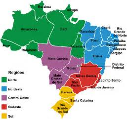 map of brazil with states maps of brazil