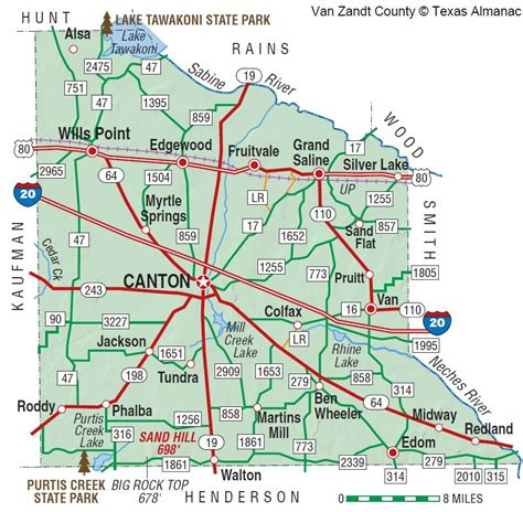 map of zandt county texas zandt county the handbook of texas texas state historical association tsha