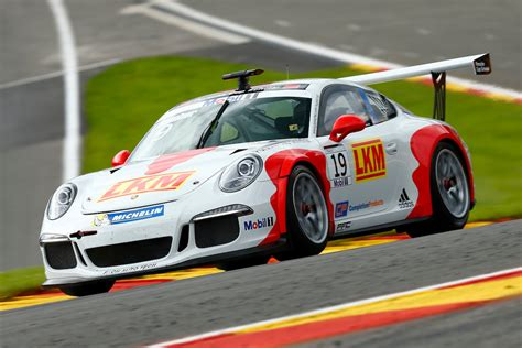 Porsche Works by Porsche Works Drive For Earl Bamber At Petit Le Mans