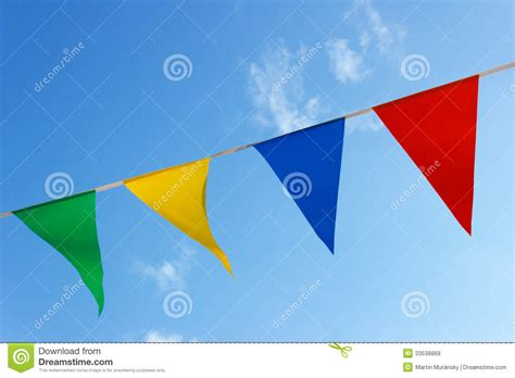 colored flags small colored flags royalty free stock images image