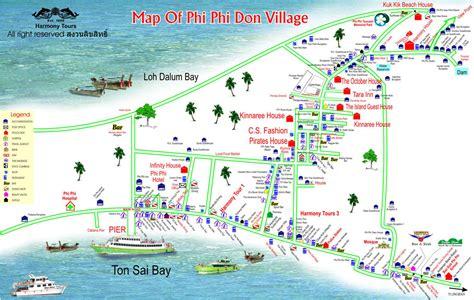 golden resort krabi map koh phi phi accommodation map pp princess resort phi phi