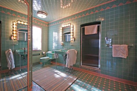 time capsule homes 1950 time capsule house with 7 vintage bathrooms grosse